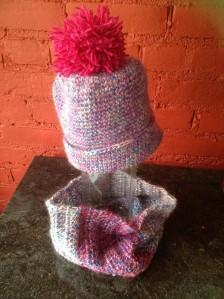 blue,pink, magenta hat $15