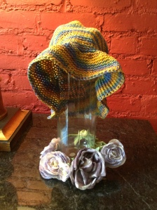 multi color sun hat $25