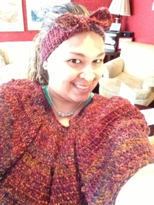 Merino Wool Poncho With twist Band  Ponch $60
