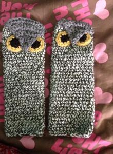 owl gloves $20